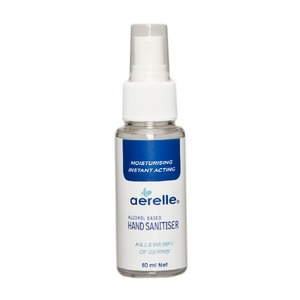 Medium ardrich aerelle dispenser hand sanitise alcohol 50ml 2014 spray